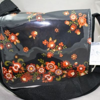 New flowers satchel by Marilyn $125