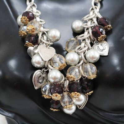 Italian necklace pearls