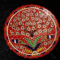 Red Turkish plate $75